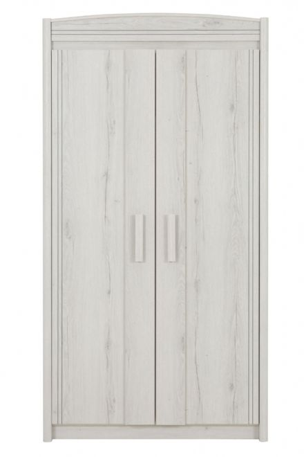 Montana Helvezia Oak  2 Door Wardrobe